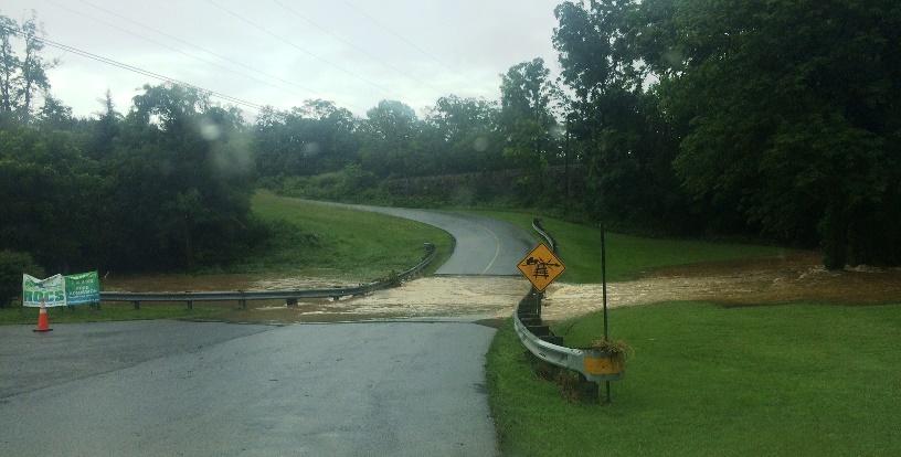 Woodstock flood 1