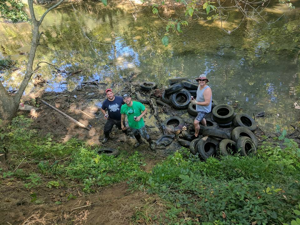 Pulling 163 Tires From The River In A Morning: A New North Fork Record